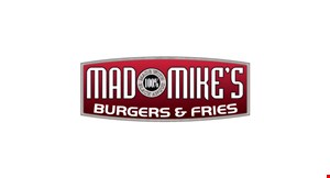 Mad Mikes Burgers & Fries logo