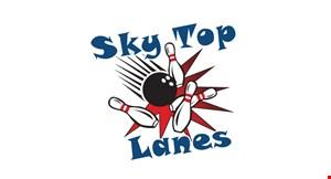 Skytop Lanes logo