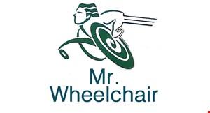Mr. Wheel Chair logo