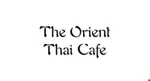 The Orient Thai  Cafe logo