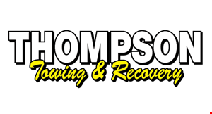 Product image for Thompson Towing & Recovery $400 Cash On The Spot