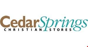 Cedar Springs Christian Stores logo