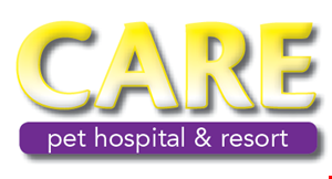 Care Pet Hospital & Resort logo