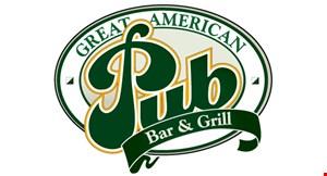 Great American Pub Bar & Grill logo