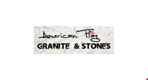 Product image for American Flag Granite & Stones $38.99 per sq. ft. granite countertop installed (starting price) · min. 35 sq. ft..