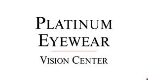 Platinum Vision Center logo