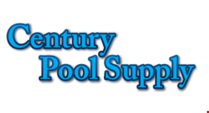 Century Pool Supply Halls logo