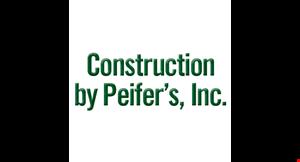 Construction By Peifer logo