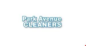 Park Avenue Cleaners logo