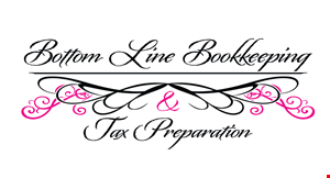 Bottom Line Bookkeeping & Tax Preparation logo
