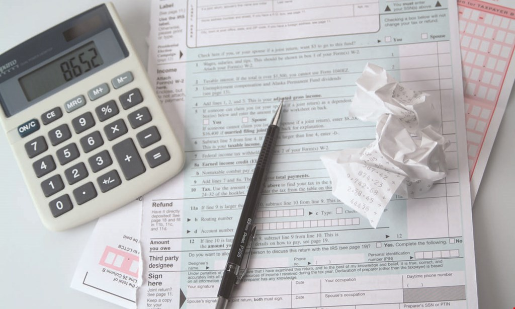Product image for Bottom Line Bookkeeping & Tax Preparation 10% off Any First-Time Service