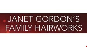 Janet & Gordon's Family Hairworks logo