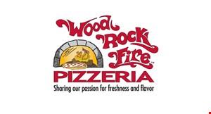 Wood Rock Fire Pizzeria logo