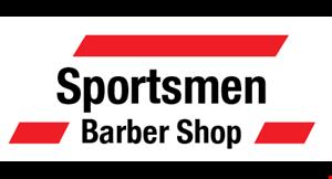 Sportsmen Barber  Shop logo