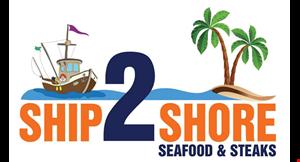 Ship 2 Shore Seafood & Steaks- Dunn Avenue logo