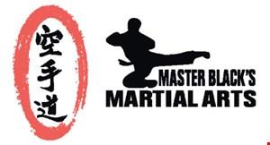 Master Black's Martial Arts logo
