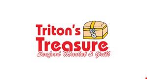Triton's Treasure Seafood Market & Grill logo