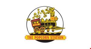 The Popcorn Station logo