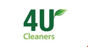 4 U Cleaners logo
