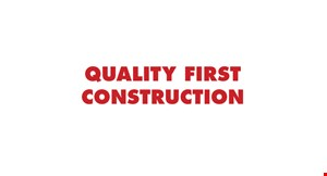Quality First Construction logo