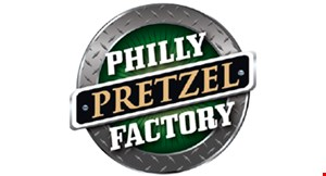 Product image for Philly Pretzel Factory $12 25 minis and large dip.