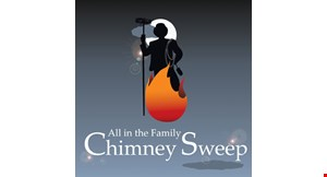 All in The Family Chimney Sweep logo