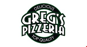 Greg's Pizzeria and Deli logo