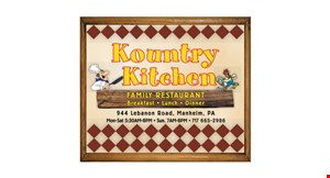 Kountry Kitchen logo