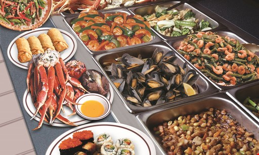Product image for Pacific Fusion Buffet & Grill 1/2 off one adult buffet