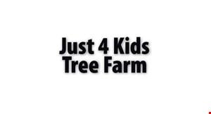 Just for Kids Tree Farm logo