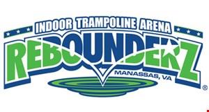 Rebounderz Indoor Trampoline Arena logo