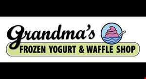 Grandma's Frozen Yogurt & Waffle Shop logo