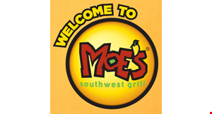 Moe's. Southwest  Grill-  Gainesville Va - Guac & Roll logo