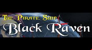 The Pirate Ship Black Raven logo