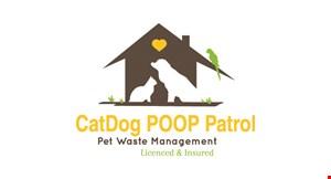 Cat Dog Poop Patrol logo