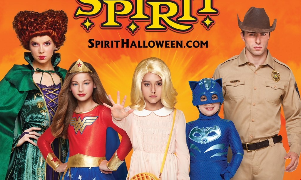 Product image for Spirit Halloween 20% OFF Any Single Item.