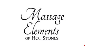 Massage Elements of Hot Stones logo