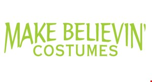 Make Believin' Costumes logo