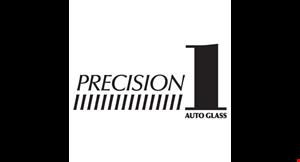 Precision 1 Auto Glass logo
