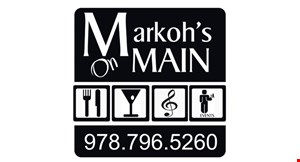 Markoh's on Main logo