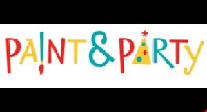 Paint & Party logo