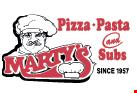 Marty's Pizza, Pasta & Subs logo