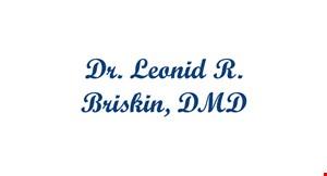 Dr. Leonid R. Briskin, DMD logo