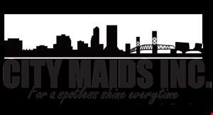 City Maids logo