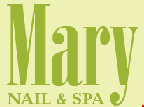 Mary Nail and Spa logo