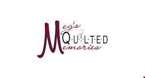 Meg's Quilted Memories logo