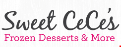 Product image for Sweet Cece's $10 For $20 Worth Of Frozen Desserts & Baked Goods