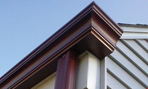 "Product image for Gutter People of WNY Inc 20% OFF on complete gutter helmet installation OR FREE 5"" standard gutters"