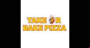 Take or Bake Pizza logo