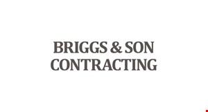 Briggs  and Son Contracting logo